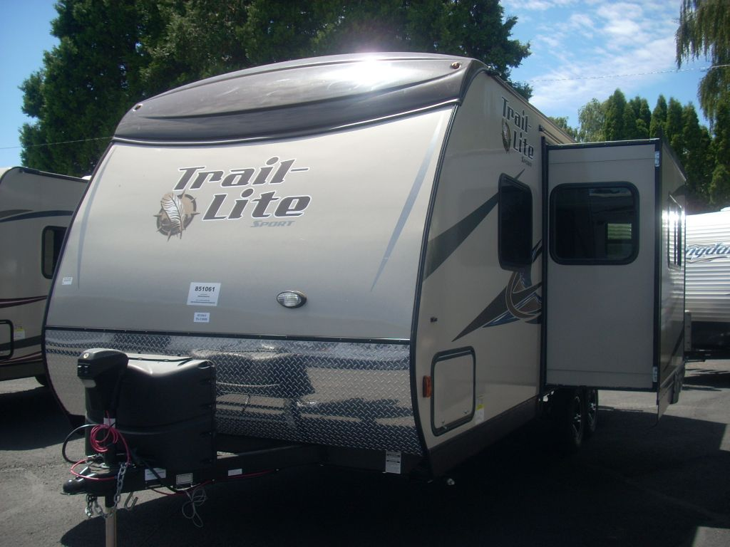 Original New 2014 RVision TrailLite Sport 23RBS Travel Trailer At