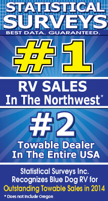 Statictical Surveys #1 RV Sales in the Northwest!