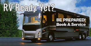 rv ready yet - book service appointment