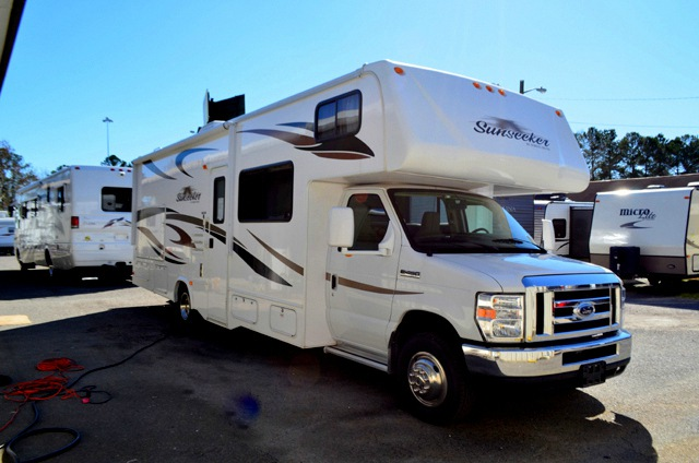 Used 2012 forest river rv sunseeker 2860ds motor home for Used motor homes class c
