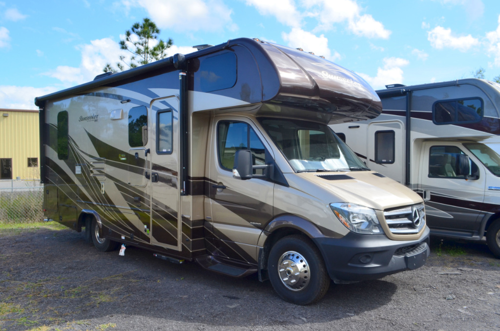 New 2018 Forest River Rv Sunseeker Mbs 2400r Motor Home