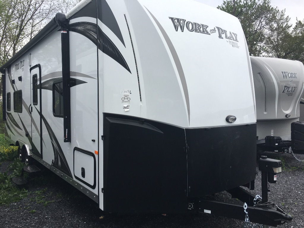 Wonderful New 2017 Forest River RV Work And Play FRP Series 25WAB
