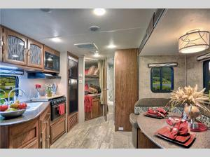 Inside - 2014 Freedom Express 296REDS Travel Trailer