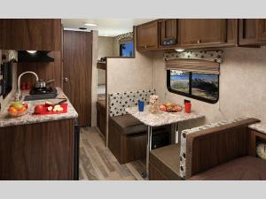 Inside - 2017 Clipper Ultra-Lite 16FB Travel Trailer