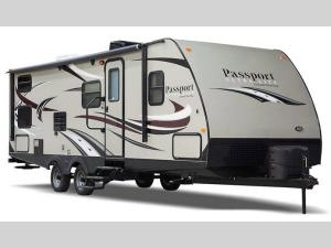 Outside - 2017 Passport 2810BHWE Grand Touring Travel Trailer