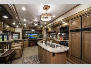 Inside - 2012 Bighorn 3410RE Fifth Wheel