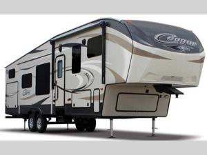 Outside - 2015 Cougar 320QBSWE Fifth Wheel