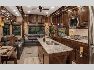 Inside - 2017 Elite Suites 39 RESB3 Fifth Wheel
