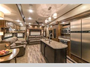Inside - 2017 Brookstone 369FL Fifth Wheel
