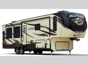 Outside - 2017 Alpine 3535RE Fifth Wheel