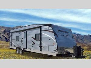 Outside - 2017 Track n Trail 26RTH Toy Hauler Travel Trailer