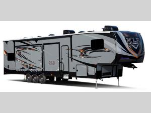 Outside - 2017 XLR Thunderbolt 380AMP Toy Hauler Fifth Wheel
