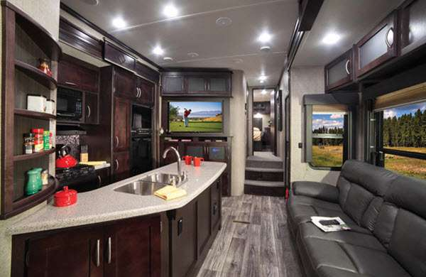 New Keystone Rv Carbon 387 Toy Hauler Fifth Wheel For Sale
