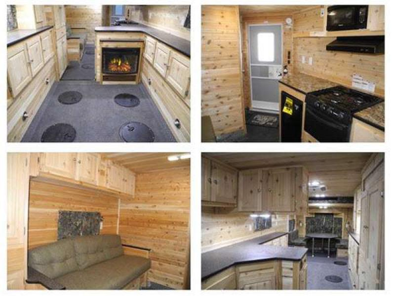 Ice castle fish houses fish house rv sales 58 floorplans for Ice castle fish houses