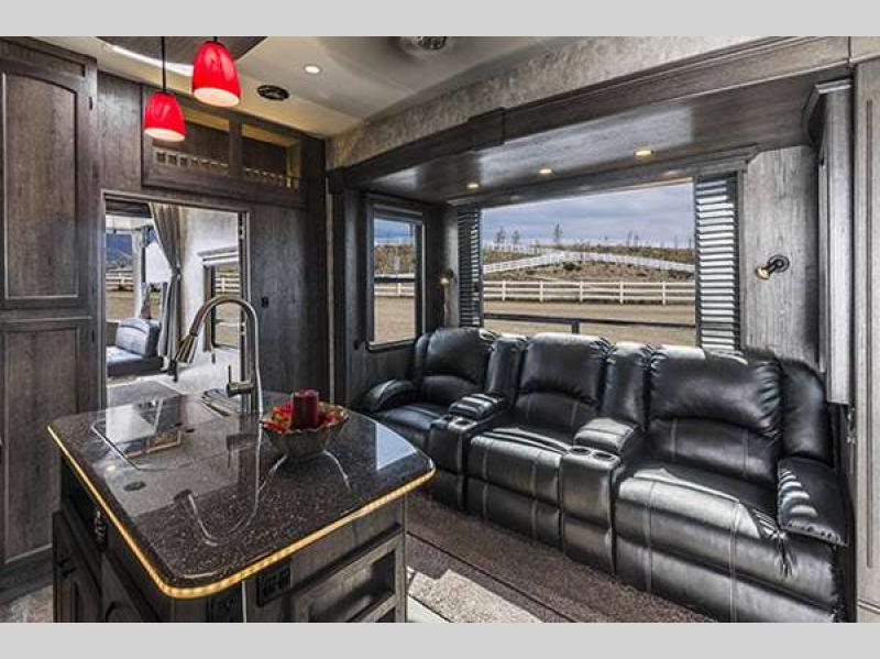 Attitude garage models toy hauler fifth wheel rv sales 4 floorplans - Garage for rv model ...