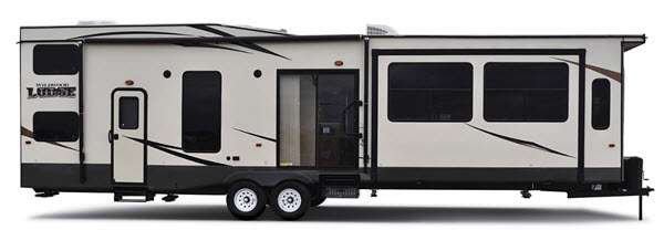 Forest River RV Wildwood Lodge Destination Trailer