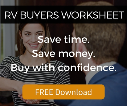 RV Buyers Worksheet - Free Download