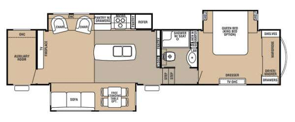 New 2013 Forest River RV Cedar Creek 36MDX Fifth Wheel at