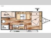 Floorplan - 2015 Forest River RV Wildwood X-Lite FS 195BH