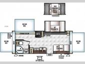 Floorplan - 2016 Forest River RV Rockwood Roo 233S