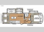Floorplan - 2016 Forest River RV Wildcat 272RLX