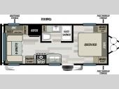 Floorplan - 2016 Forest River RV EVO ATS 200RD
