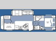 Floorplan - 2008 Keystone RV Cougar 2811BHS