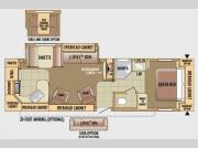 Floorplan - 2010 Jayco Jay Flight G2 31RKS