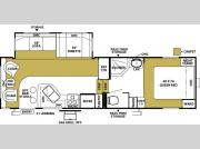 Floorplan - 2005 Forest River RV Wildwood 285 RLSS