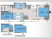 Floorplan - 2014 Jayco Jay Flight Swift 281BHS