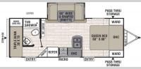 Floorplan - 2017 Coachmen RV Freedom Express 229TBS