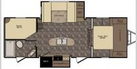 Floorplan - 2017 CrossRoads RV Maple Country MC240BI