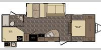 Floorplan - 2017 CrossRoads RV Maple Country MC270BH