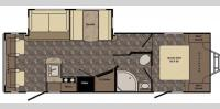 Floorplan - 2017 CrossRoads RV Maple Country MC260RL