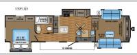 Eagle 339FLQS Floorplan Image