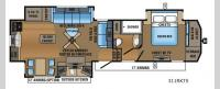 North Point 311RKTS Floorplan Image