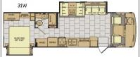 Flair 31W Floorplan Image