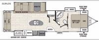 Freedom Express Liberty Edition 322RLDS Floorplan Image