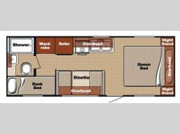 Used 2012 Gulf Stream RV Ameri-Lite 24BH Photo