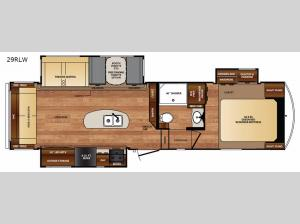 Black Diamond 29RLW Floorplan Image