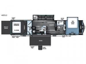Vengeance Touring Edition 40D12 Floorplan Image