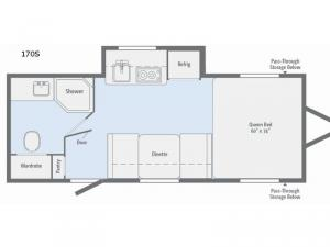 Winnie Drop 170S Floorplan Image