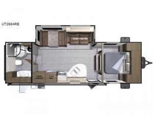 Open Range Ultra Lite UT2604RB Floorplan Image
