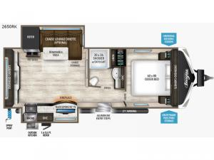 Imagine 2650RK Floorplan Image