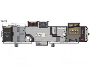 Raptor 426TS Floorplan Image