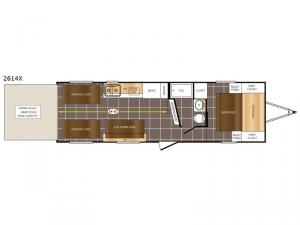 Fury 2614X Floorplan Image