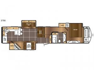 Sanibel 3750 Floorplan Image