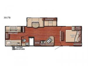 Conquest 301TB Floorplan Image