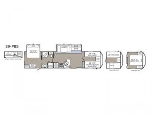 Puma Destination 39-PBS Floorplan Image