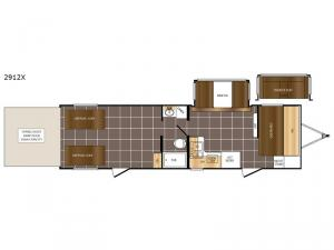 Fury 2912X Floorplan Image